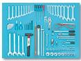 Набор инструмента для строительной техники 81 предмета
